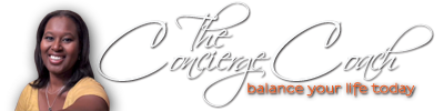 The Concierge Coach | iBalance Me logo